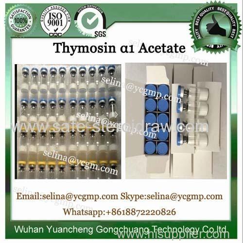 Lyophilized Peptide Powder CAS 62304-98-7 Thymosin Alpha 1 Acetate