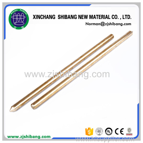 High Quality Brass Ground Rod from China manufacturer