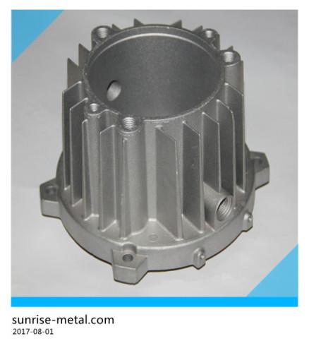 Aluminium die casting metal base