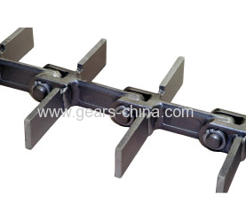 Widely used Wear- Resistant Alloy Steel Drop Forged scraper chain / Forged Link Chain
