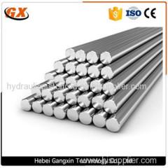 induction hardened hard chrome plated piston rod