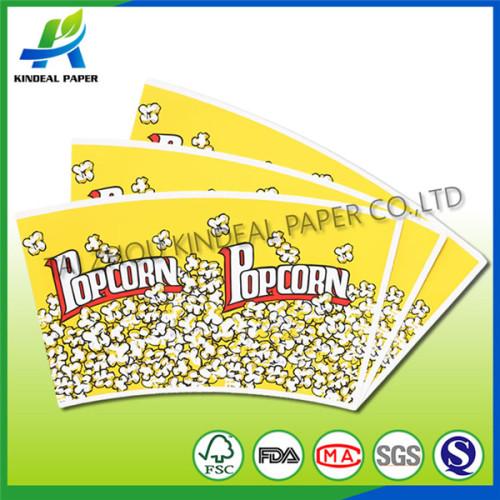 Custom print popcorn fans for Popcorn bucket
