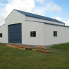 Agricultural equipment repository prefabricated building