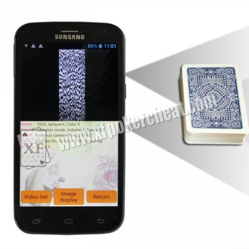 20-40cm Scanning Distance Poker Analyzer Biuld - In And Wireless Camera