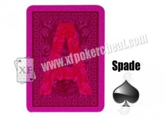 Modiano Ramino Golden Trophy Plastic Marked Playing Cards For Poker Cheat