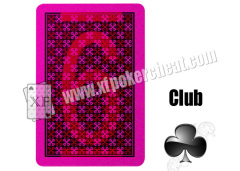 Copag Texas Hold'em Red / Black Gambling Cards For Invisible Ink Glasses