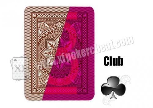 Cristallo 4 PIP Modiano Plastic Playing Cards With Invisible Ink Markings For UV Ink Contact Lenses
