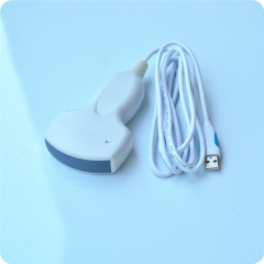 Palm ultrasound probe scanner