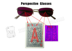 Cool Utraviolet Poker Cheat Perspective Glasses For Marked Cards