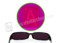 Fashionable Style UV Sunglasses Perspective Glasses For Poker Cheat