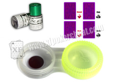 Infrared Marked Cards Contact Lenses For Poker Cheating Perspective Glasses