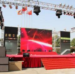 outdoor Stage Rental Led Display Screen for Events/Concert/Wedding