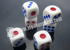 Different Size And Color Dices With Liquid Inside For Dices Cheating