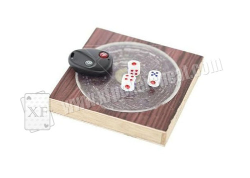 Megnetic Dice Board With Remote Control To Control The Dices