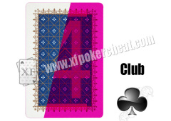 Magic Tricks With 2 Standard Index Taiwan Royal Blue And Green Plastic Cheating Playing Cards