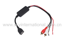 Universal Aux Cable For iPod iPad iPhone4 5 6 7 For All The Car With RCA In
