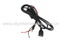 Universal Aux Cable For iPod iPad iPhone4 5 6 7 For All The Car With AUX In