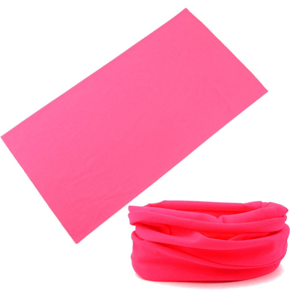 Multifunction Tubes Headwear Elastic Headband Seamless Plain Outdoors Bandana