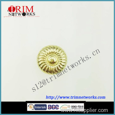 Alloy rivet metal button maker