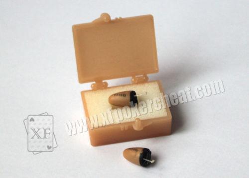 Poker Cheating Equipment MICSPY Wireless Micro Spy Earphone For Information Receiver
