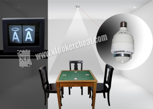 Different Lamps Poker Scanner for Reading Back Marked Cards