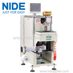 NIDE High Quality stator coil lacing machine with CNC control design and HIM program