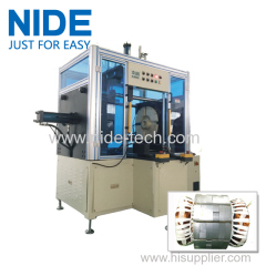 NIDE stator coil forming machine with touch screen