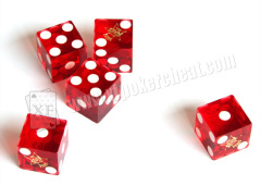 Different Size Plastic Dices With Different Color For Dice Cheating Games