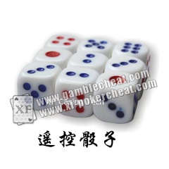 Different size Non Magnetic Electronic Dice Cheating Device With Remote Control
