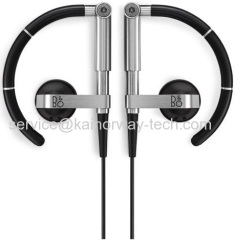 B&O Play Beoplay Earset3i Active Adjustable Ergonomic Earbud Ultra Light Headphones With Remote And Microphone Black