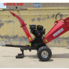 CE certificated gasoline chipper shredder mulcher for garden