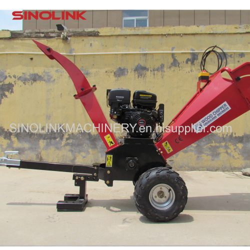 Gasoline self powered wood chipper for ATV GS120