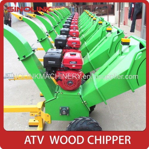 Wood Chipper Shredder With CE GS120 manufacturer from China