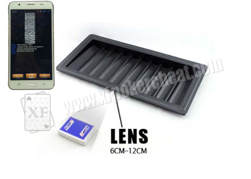 Chip Tray Poker Invisible Marks Scanner for Gambling Cheat