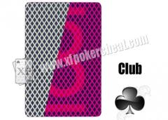 Club Cards Games Bee Paper Invisible Playing Cards For Contact Lenses