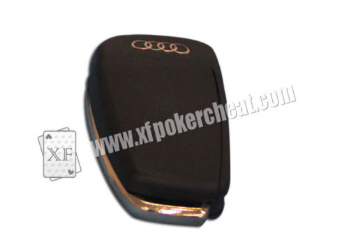 Audi Car Key Camera Poker Card Reader To Scan Bar Code Sides Cheating Playing Cards