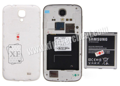 White Color Samsung S4 Mobile Phone Camera For Poker Scanner / Bar-Codes scanning camera