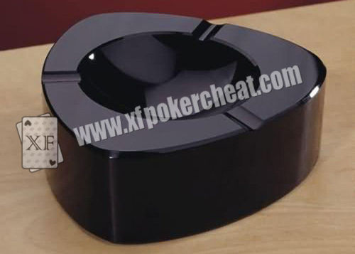 New Transparent Ashtray IR Camera Poker Analyzer With Marked Cards|Poker Scanner