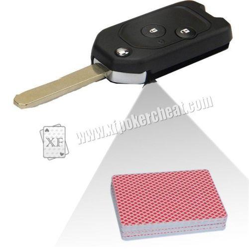 Custom Car Key Camera Poker Card Reader Side Marked Cards Forecast Poker Cheat Tools