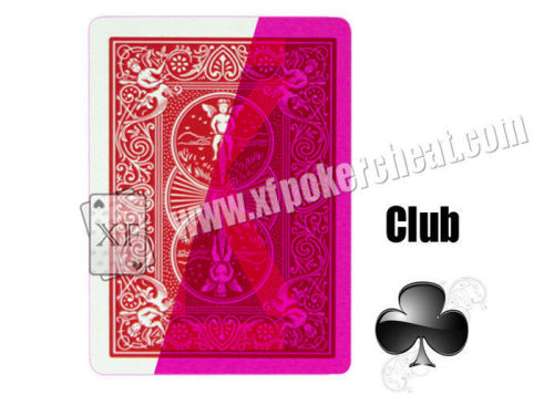 New Virson American Bicycle Paper Invisible Playing Cards For Poker Games