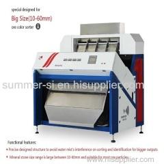 stone color sorter;industrial color sorter;color sorter machine;color sorter