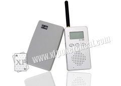 Grey Plastic Wireless Audio Receiver And Talker For Poker Cheat