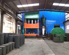 Isostatic Pressure Fine Grain Graphite Block with High Purity