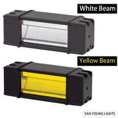 SAN YOUNG LED Light Bar PIAA RF Wider beam for 4x4 trucks autos off road driving