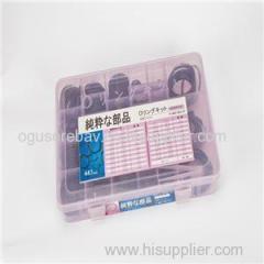 34Size 447PCS O Ring Kit O Ring Box O Ring Assortment Rubber Seal Box For SUMITOMO