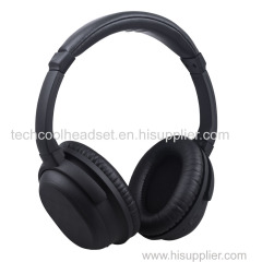 Active noise cancelling bluetooth headset