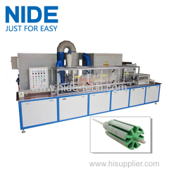 NIDE High-accuracy epoxy polyester powder coating machine for armature rotor
