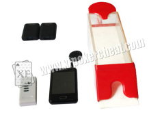 Magic Red Baccarat Dealing 8 Decks Poker Shoe Cheating Devices With HD Camera