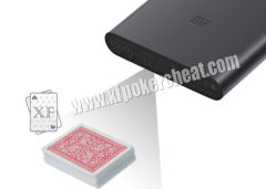 MI Mobile Phone Power Bank Camera For Playing Cards Invisible Barcodes Scanning
