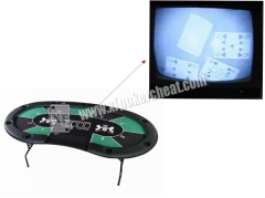 Perspective Table System Poker Game Monitoring System With Scanning Camera
